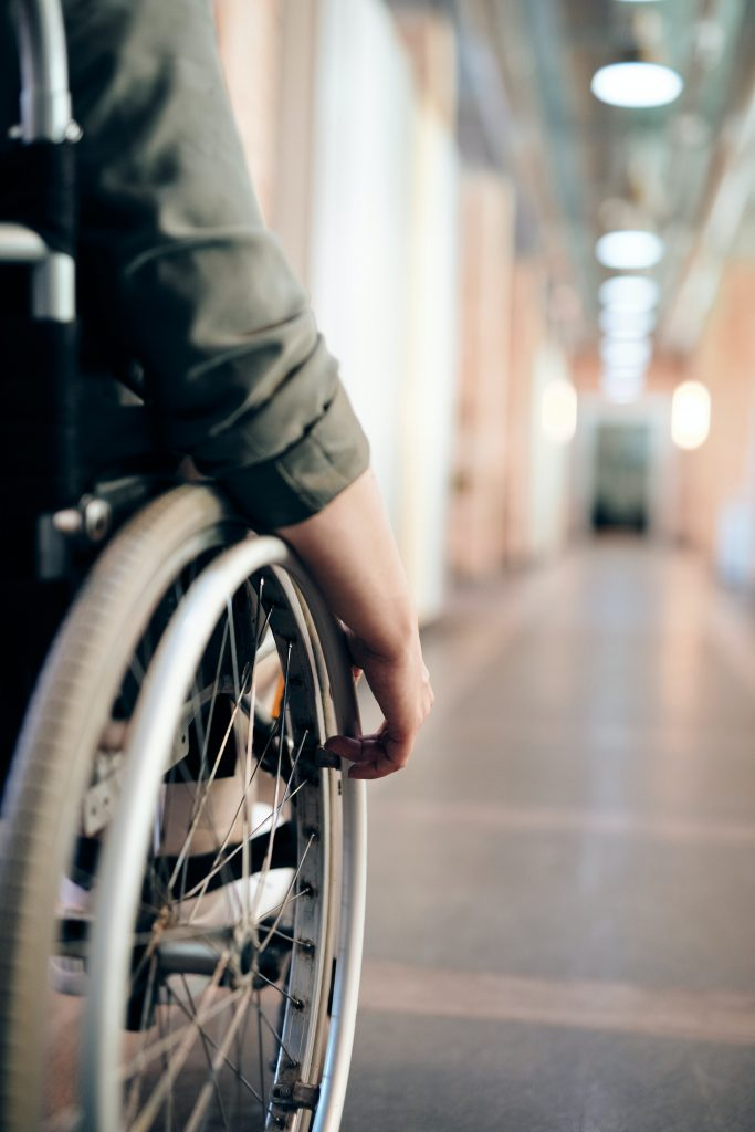 Wheelchair Image - Decorative